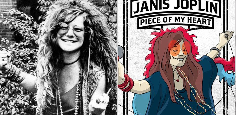 Nasce Janis Joplin