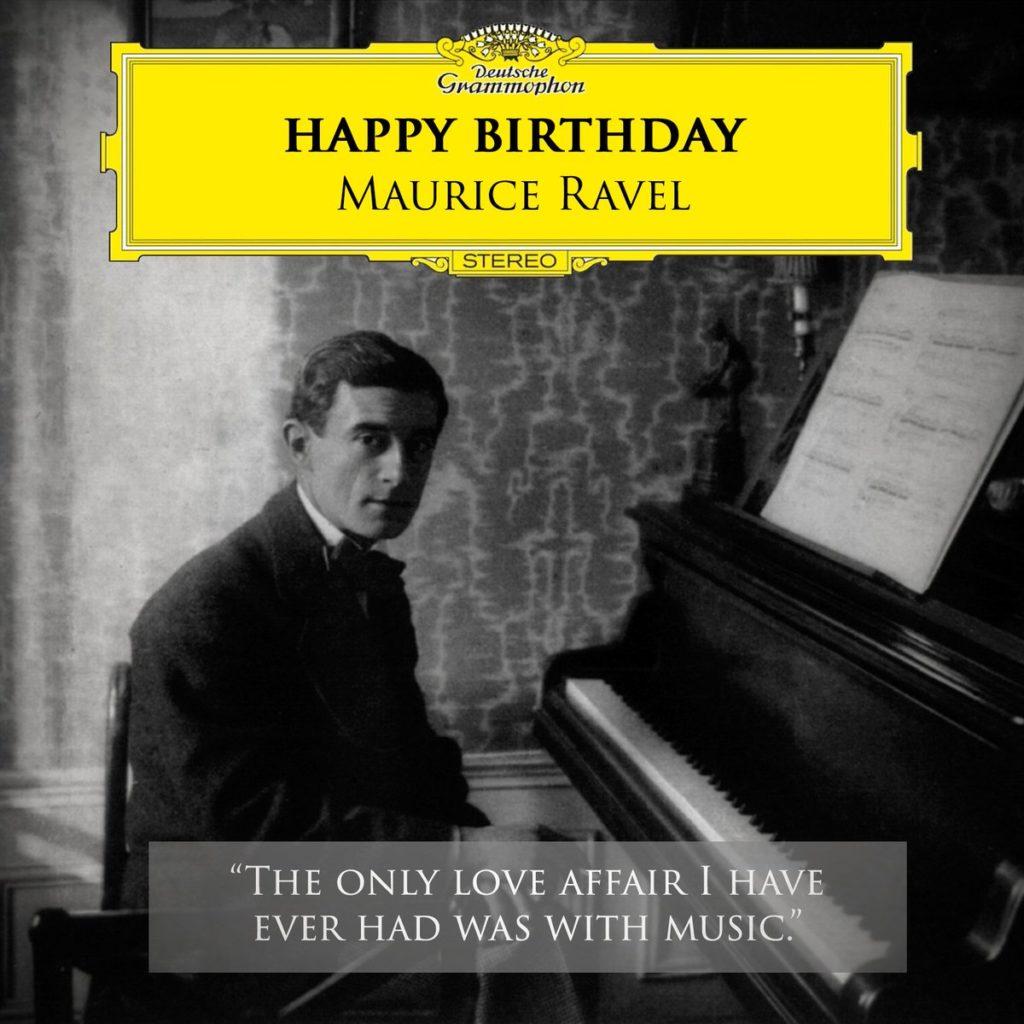 Nasce Maurice Ravel