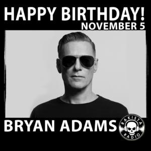 Nasce Bryan Adams